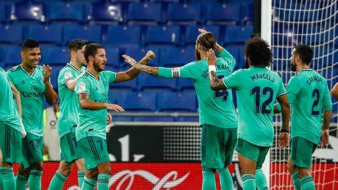 Los jugadores del Real Madrid saben que ganando los dos próximos partidos caerá la Liga.