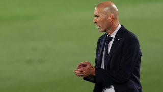 Zidane durante un partido. (Getty)