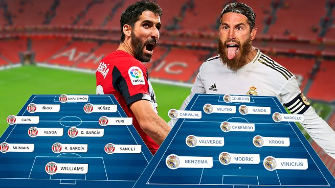 Athletic – Real Madrid: La Liga se gana en San Mamés
