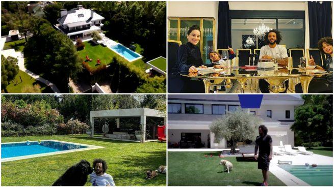 La espectacular casa de Marcelo.