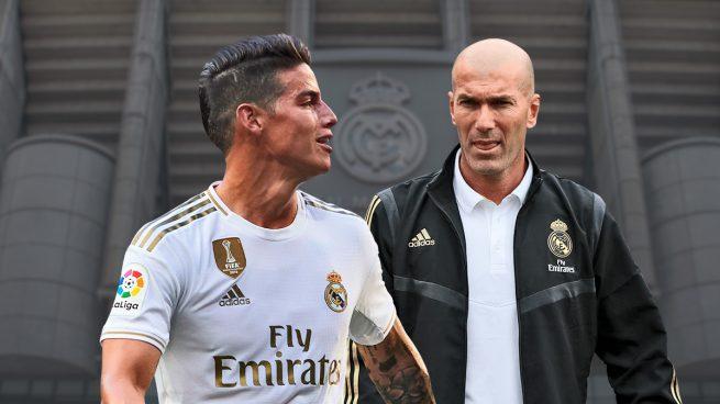Zidane 'despide' a James