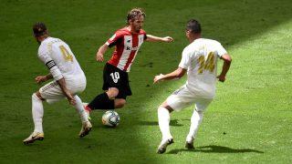 Iker Muniain, en el Athletic – Real Madrid. (Getty)