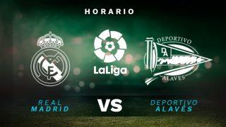 Liga Santander 2019-2020: Real Madrid – Alavés| Horario del partido de fútbol de Liga Santander.
