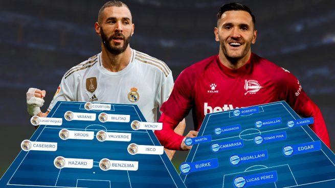 Real Madrid – Alavés: se ruega mantener la distancia