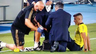 Gil Manzano se lesionó en el Real Madrid – Alavés.