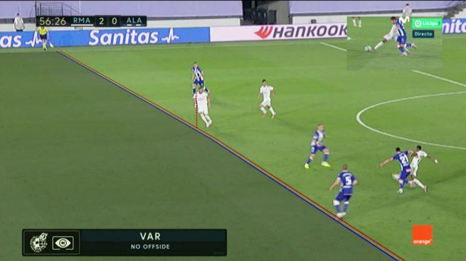 El VAR hizo justicia y dio validez al gol de Asensio