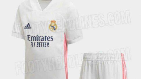 El Real Madrid jugará con esta camiseta la próxima temporada.