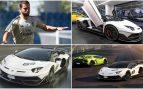 Hazard y su nuevo Lamborghini Aventador SVJ blanco.