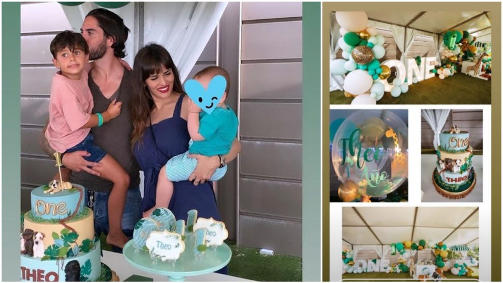 La fiesta de cumpleaños de Theo.