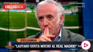 Lautaro Martínez gusta mucho al Real Madrid.