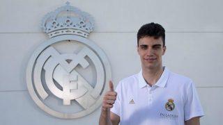 Carlos Alocen, nuevo jugador del Real Madrid. (Realmadrid.com)