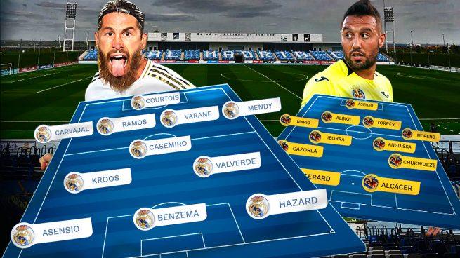 Real Madrid – Villarreal: Esta Liga se juega en casa