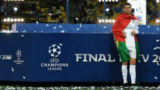Cristiano Ronaldo, tras la final de la Champions 2018. (Getty)