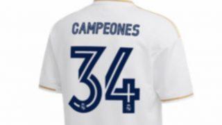 Se filtra por error la camiseta de campeones de Liga.