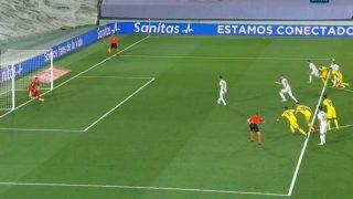 El penalti entre Ramos y Benzema.