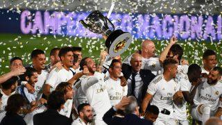 El Real Madrid campeón de la Liga Santander