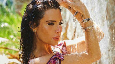 Pilar Rubio y su posado en bikini.