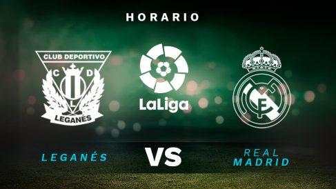 Leganés – Real Madrid: horario del partido de la jornada 38 de la Liga Santander.
