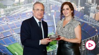 Ayuso Santiago Bernabéu