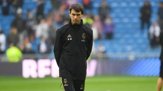 Gregory Dupont, durante un partido del Real Madrid (AFP).