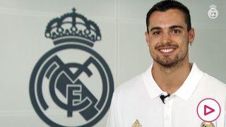 Alberto Abalde, nuevo jugador del Real Madrid.