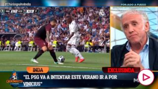 Neymar es el gancho para Vinicius.