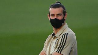 Bale, antes de un partido con el Real Madrid. (AFP)