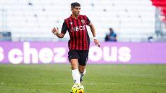 Youcef Atal, jugador del OGC Niza (Getty).