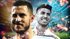 Hazard y Asensio, claves en el futuro del Real Madrid.