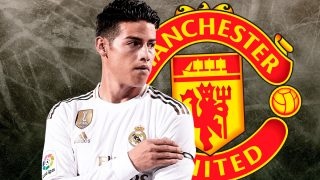 James Rodríguez está cerca del Manchester United.