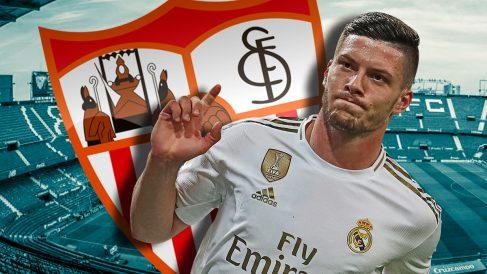 El Sevilla ha preguntado por la situación de Jovic.