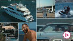 Las vacaciones de Benzema.