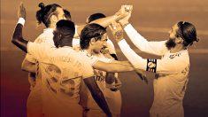 El Atlético le deja la Liga en bandeja al Real Madrid.