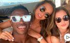 Vinicius compartió yate en Ibiza con una de las estrellas de 'Élite'