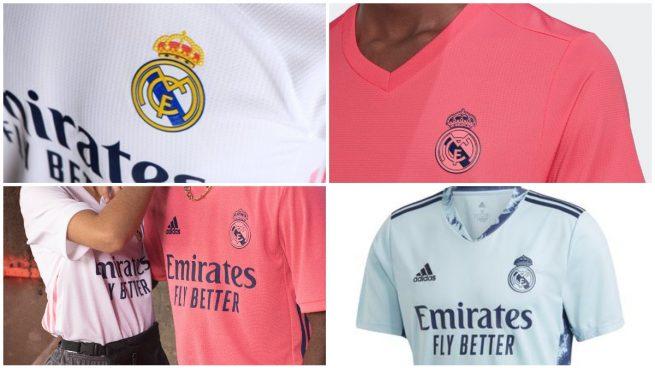 Las nuevas equipaciones del Real Madrid.