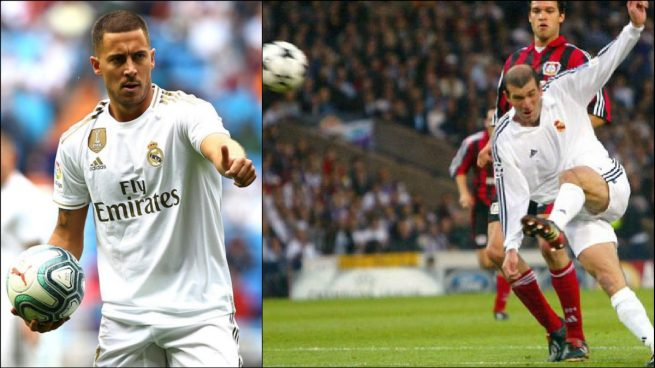 A Hazard le hubiese gustado marcar la volea de Zidane en la Novena