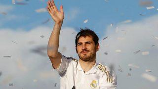 Iker Casillas celebra un título con el Real Madrid. (Realmadrid.com)