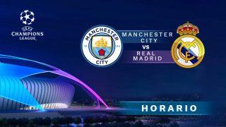 Manchester City – Real Madrid: horario del partido de los octavos de final de la Champions League.