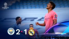 El Real Madrid cayó 2-1 ante el Manchester City en la Champions.