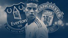 James quiere irse ya del Real Madrid.