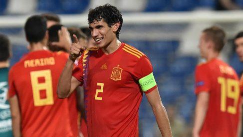 Jesús Vallejo fue capitán de la selección sub-21. (Getty)