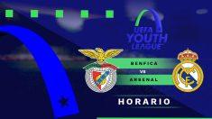 Final de la Youth League 2019-2020: Benfica – Real Madrid | Horario del partido de fútbol de la Youth League.