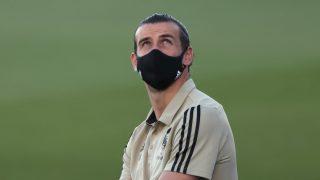 Bale, durante un partido del Real Madrid (Getty).