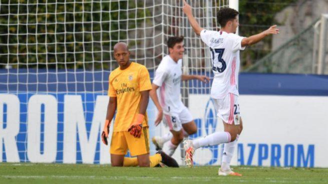 Benfica – Real Madrid: Resultado, resumen y goles de la UEFA Youth League (2-3)