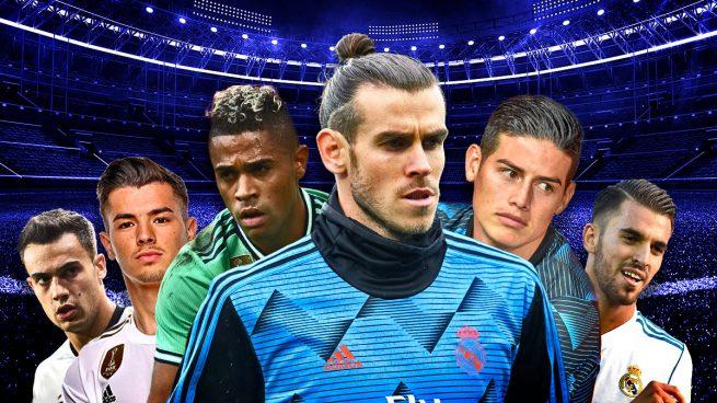 El Real Madrid tiene 40 días para colocar a siete jugadores