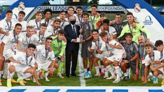 El Real Madrid gana la UEFA Youth League. (Realmadrid.com)