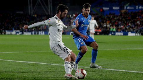 Hugo Duro llega cedido al Real Madrid procedente del Getafe.