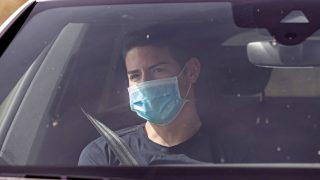 James Rodríguez, cerca de cerrar su fichaje por el Everton (AFP).