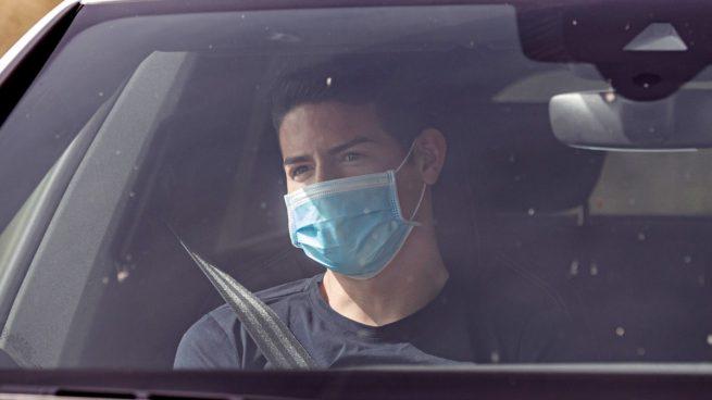 James pasará el reconocimiento médico con el Everton