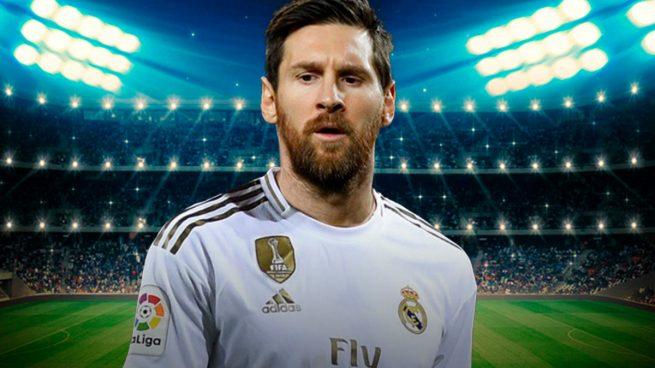 Messi ficha por el Real Madrid!
